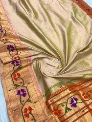 Exclusive Designer Pure Silk Handloom Yeola Paithani Sarees