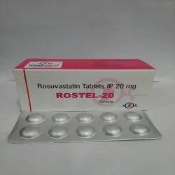 Rostel-20 Rosuvastatin Tablets 20 Mg