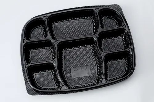 Plastic Meal Tray With Lid