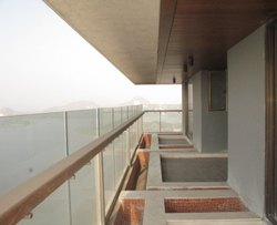 Panel Glass Railing, For Home