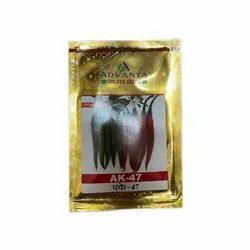 Ak 47 Hybrid Chilli Seeds, Packaging Type: Packet, Packaging Size: 10 Gram