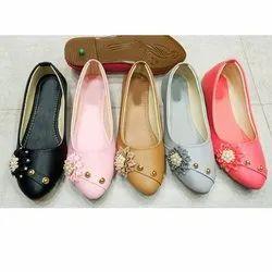 Plain Ladies Party Wear Ballerina Shoes, Size: 36 -41