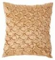 Designer Golden Square Handmade Cushion Cover