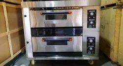 Janshakti Bakery 2 Deck 4 Tray Gas Baking Oven
