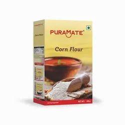 Puramate Corn Flour, 100 Gram, Packaging Type: Box