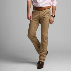 Regular Fit Mens Cotton Formal Wear Trousers
