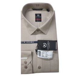 Cotton Zone Smart Fit Men Plain Stylish Shirt, Size: S-xxxl