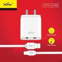 Xstar ST-02 Travel Charger (White) - Type C Pin