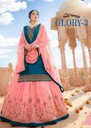 Your Choice Glory Vol-3 Party Wear Desginer Suits Catalog