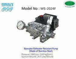 WULI Seawater Saltwater Resistant Stainless Steel Pump 2000 PSI, Model Name/Number: WS-2024F