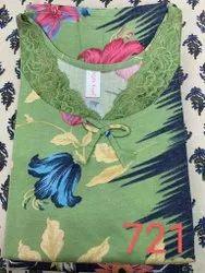 Printed Ladies Fancy Nightwear