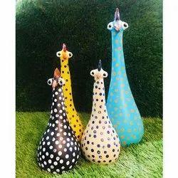 FRP Chicks Family Garden Decor Art