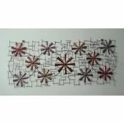 Brown Decorative Iron Wall Art