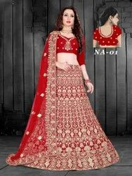Semi stitched Bridal Lehenga Choli
