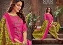 Cotton Suit Material With Embroidery