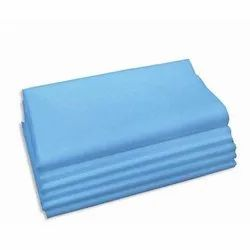 Blue Disposable Hospital Bed Sheets, Size: 48