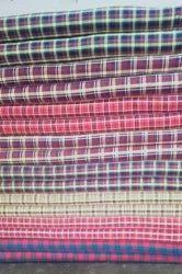 Cashmere Woolen Cashmilon Chek Fabric
