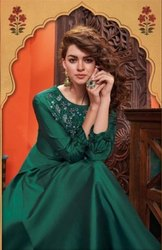 Stylemax Almirah Vol-3 Silk Long Gowns Catalog Collection