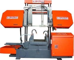 LMG 1200 M Double Column Semi Automatic Band Saw Machine (without Pusher)