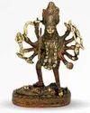 680 gm Brass Kali Mata