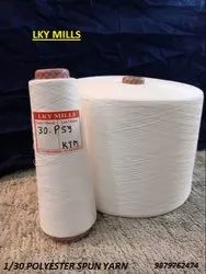 LKY Polyester Yarn 1/30 psy wt 30/1 or 30, For Stitching