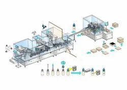 House Hold Product Filling Line