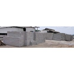Autoclaved Aerated Concrete Cuboid 75, 100, 150, 200, 230 x 200 x 600 Mm AAC Block, For Side Walls