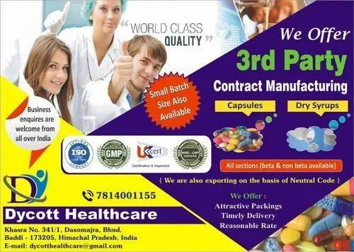 Pharmaceutical Third Party Manufacturing For Tablets