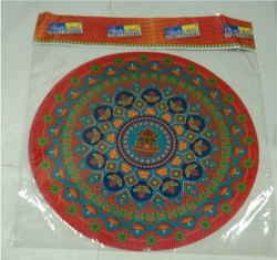 15 Inch Holographic Rangoli Sticker