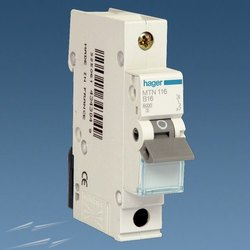 Hager 16A Single Pole MCB