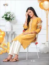 S4u By Indi Chic Vol 3 Classic Kurties Catalog