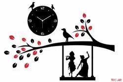 Attractive Radhe Krishna Wall Clock