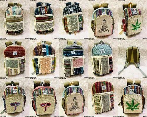 Exclusive Hemp Backpacks