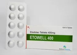 Etodolac Tablets(Pain Relief Drug)