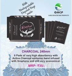 DOTFREE Charcoal Sanitary Napkins