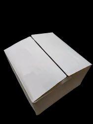 White Rectangular 12/12/7 Inch 5 Ply Corrugated Box