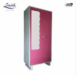 Metal 48x12 Inch Mirror Residential Cupboard, For Home