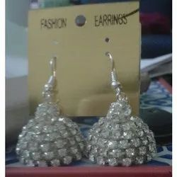 Fashion Silver Jhumka Earring