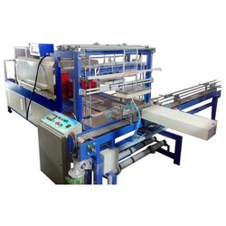 Automatic Web Sealer With Shrink Wrapping Machine
