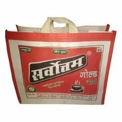 Handbags off white canvas Jhola Bag, For branding