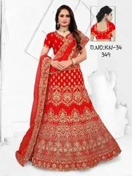 Ladies Ethnic Embroidered Festive Wear Lehenga Choli