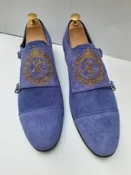 Causal Douuble Monk Casual Wear Shoe Suede Leather Shoes