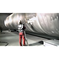 Shot Blasting Service, Steel Structural, Atlas Copco Xa 140