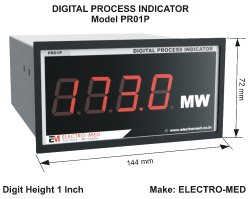 1 Inch Process Indicator