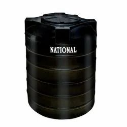 2500 L Cylindrical Vertical Storage Tank