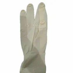White Latex Safety Gloves