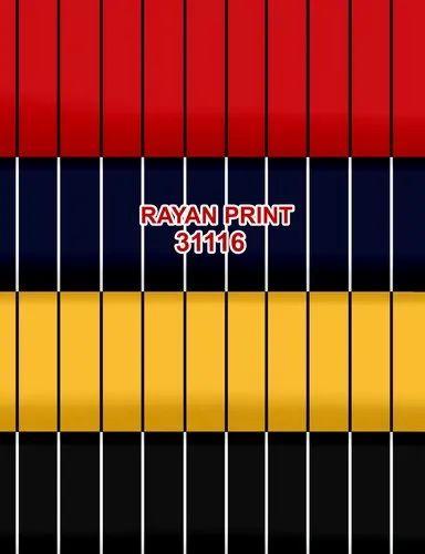 "Rayon Printed Fabric 58"" 17 KG"