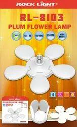 Round 60 W Rock Light RL-8103 Plum Flower Lamp, For Home, B22
