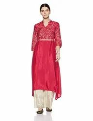 Party Wear Anarkali Kurtis 003, Wash Care: Machine wash