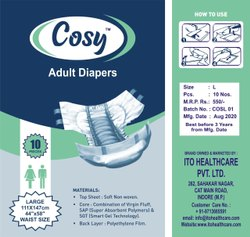 Pull Ups Large Cosy Adult Diaper